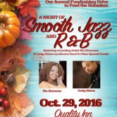 Smooth Jazz, R&B, October 29, 2016