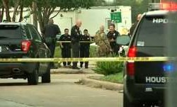 6 wounded in Houston shooting, Guman found dead at scene