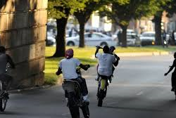 """Police arrest Baltimore dirt bike """"godfather,"""" allege he maintained a """"chop shop."""""""