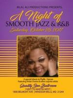 Smooth Jazz & R&B, October 28, 2017