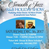 Smooth Jazz & R&B, December 16, 2017