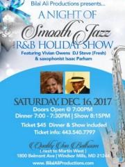 Smooth Jazz & R&B, December 16, 2017