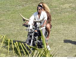 Beyonce and Jay-Z Grabbing Bull by the Horns in Jamaica
