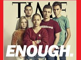 Stoneman Douglas shooting survivors on cover of time calling for gun control