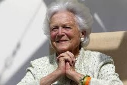 A proper goodbye for Barbara Bush, a first lady of grace and grit