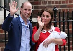 Kate, Duchess of Cambridge, Gives Birth to another Son