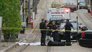 58-year-old man fatally struck by light rail in downtown Baltimore, dragged for several blocks