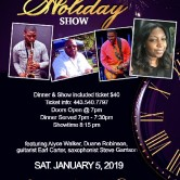 The New Year Holiday Show – Jan. 5, 2019