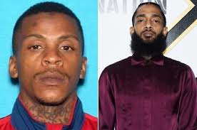 Man charged with killing Nipsey Hussle pleads not guilty